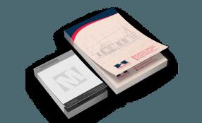 Bloco de Anotações com 100 folhas Reciclato